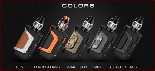 Geekvape Aegis Legend 200W Mod kit with Aero Mesh 5mL Tank Kit