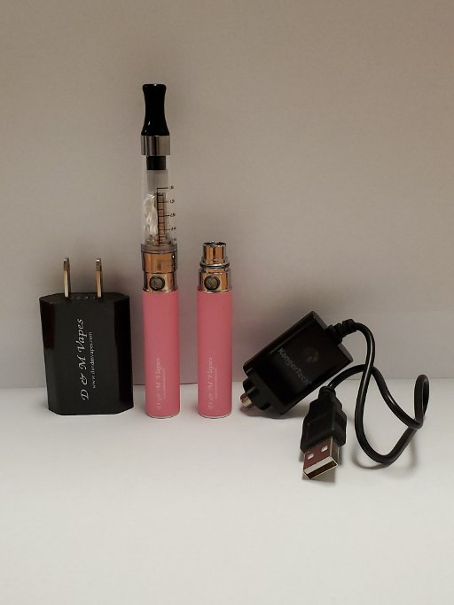 D&M 650mAh Custom Kit Pink