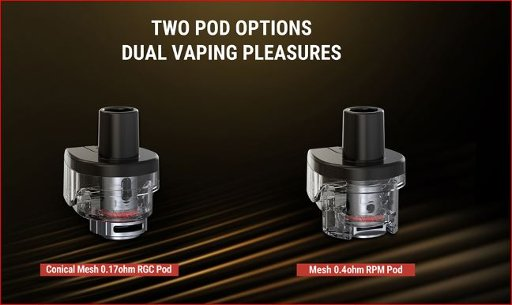 Smok RPM80/Pro RPM and RCG Empty Pod Cartridge 5ml 3PC PKG