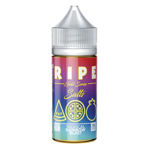 Gold Collection-Tropical Rainbow Blast Salt Nic