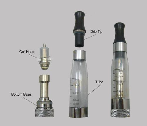 Vision eGo Clearomizer V3  - Rebuildable-Discontinued